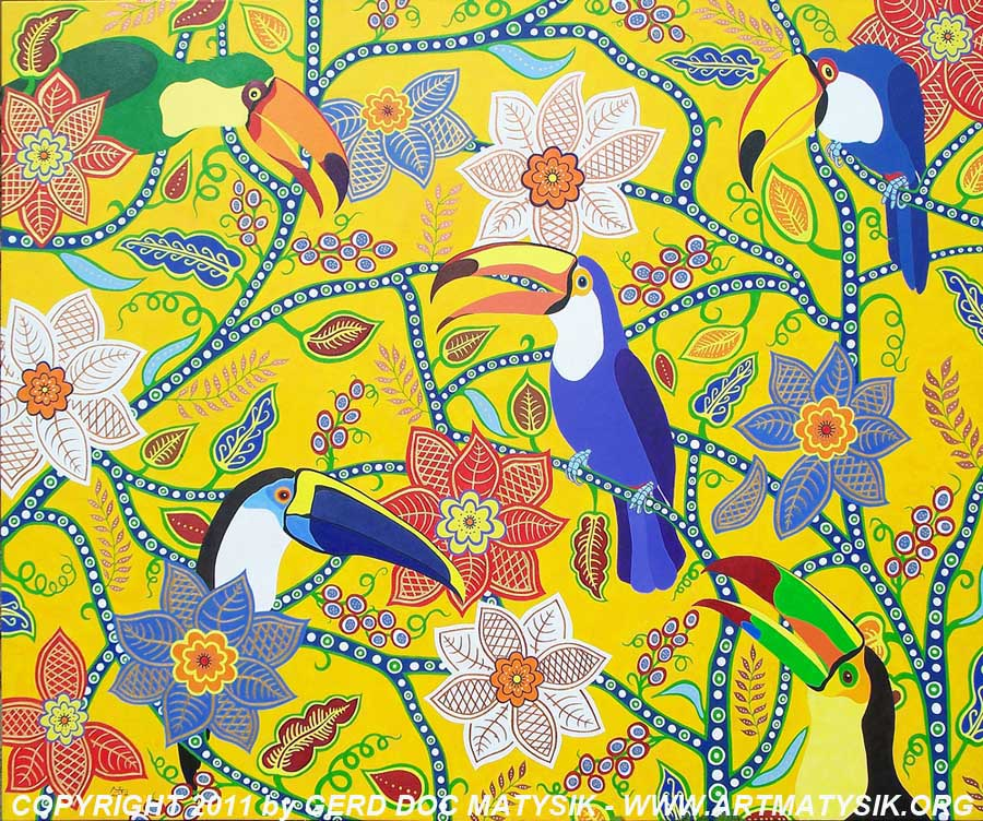 THE_RETURN_OF_THE_FUNNY_BIRDS_by_GERD-DOC-MATYSIK_acrylic-canvas_120cmx100cm_nature_WWW.ARTMATYSIKORG-2